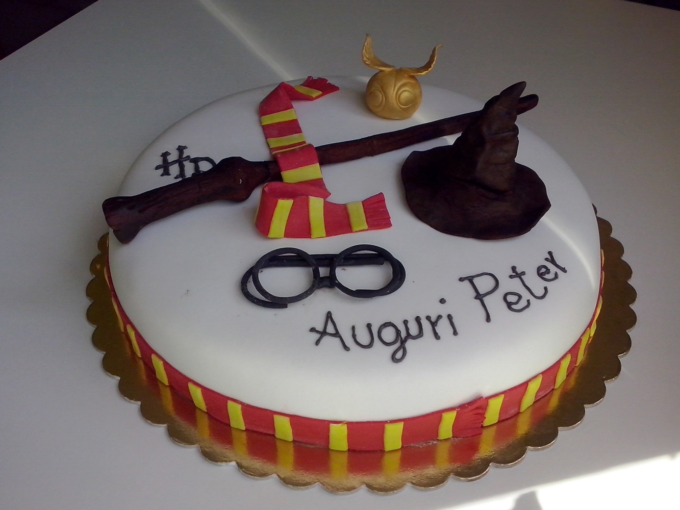 harry potter torte harry potter party teil 3 stempelspass il paradiso delle torte la torta di. Black Bedroom Furniture Sets. Home Design Ideas